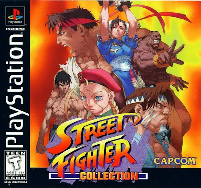 Super Compactado Street Fighter Collection PS1