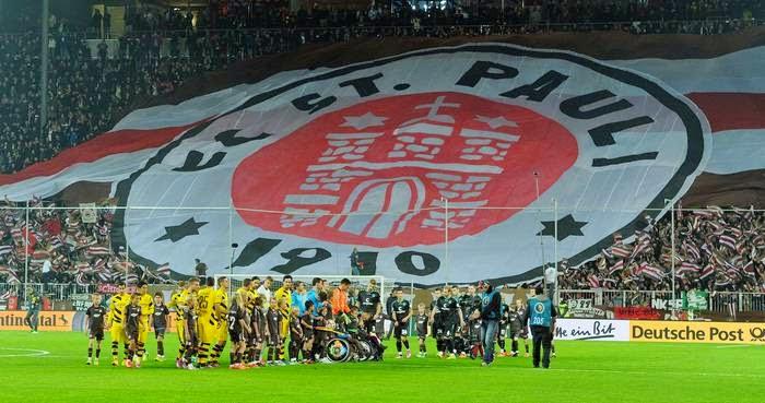 St. Pauli perde para o Borussia e está fora da Copa da Alemanha