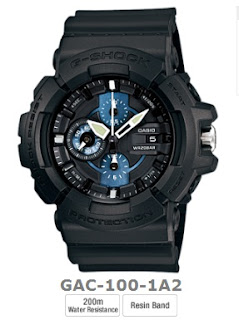 Jam tangan g-shock GAC-100 analog