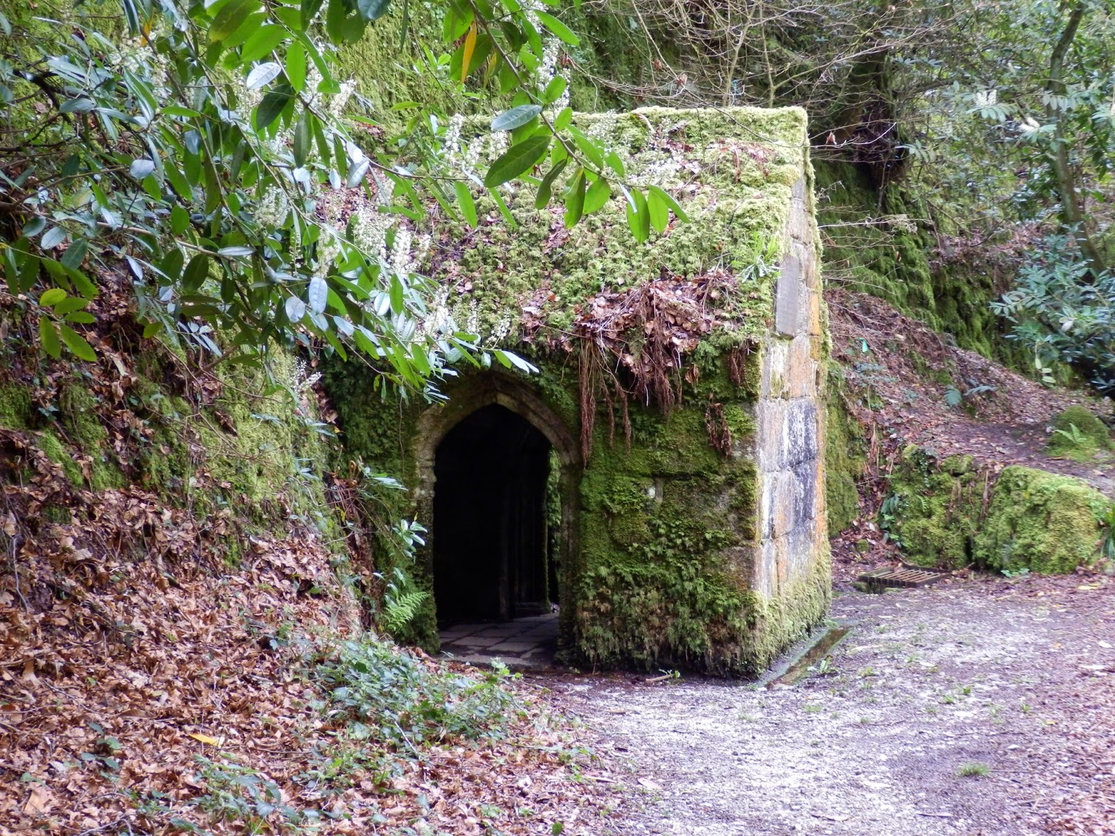The Menacuddle Holy Well Chapel, St Austell, Cornwall