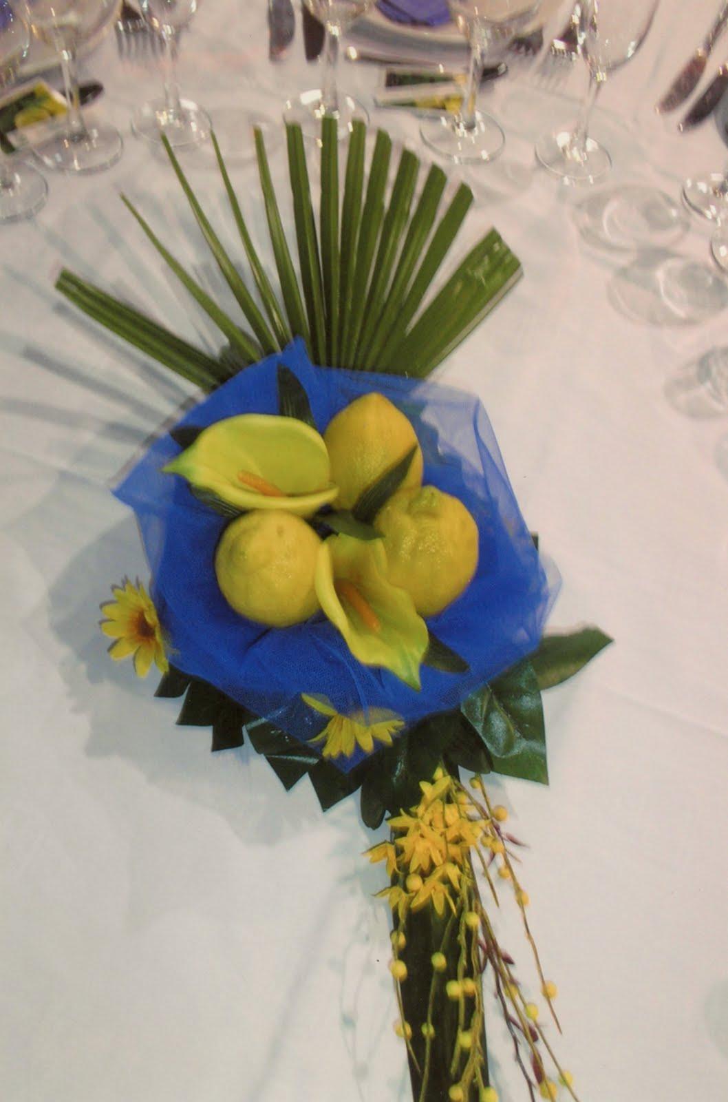 Sweetmandarina centro de mesa con limones - Centros de mesa con limones ...