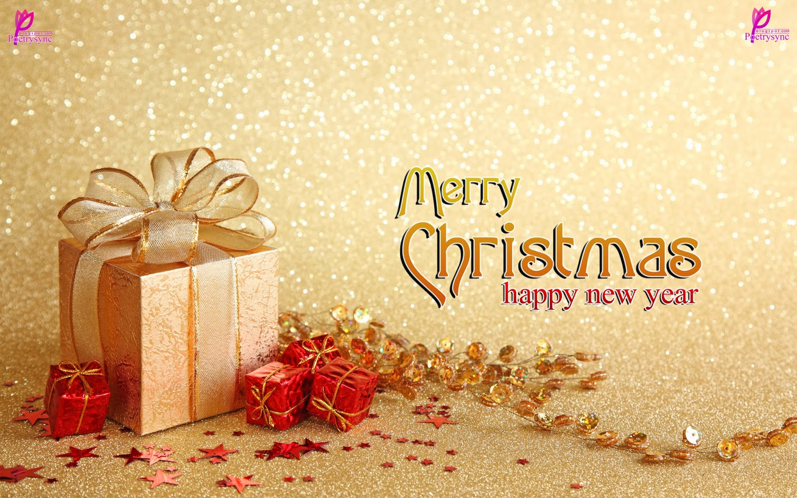 best merry christmas happy new year 2016 best hd wallpaper