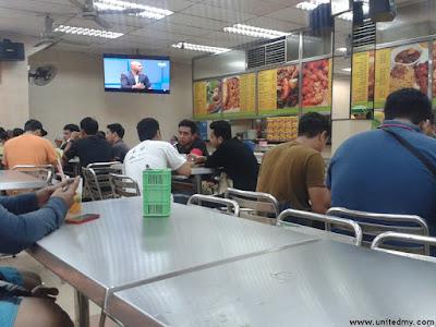 Mamak Restaurants with HD television