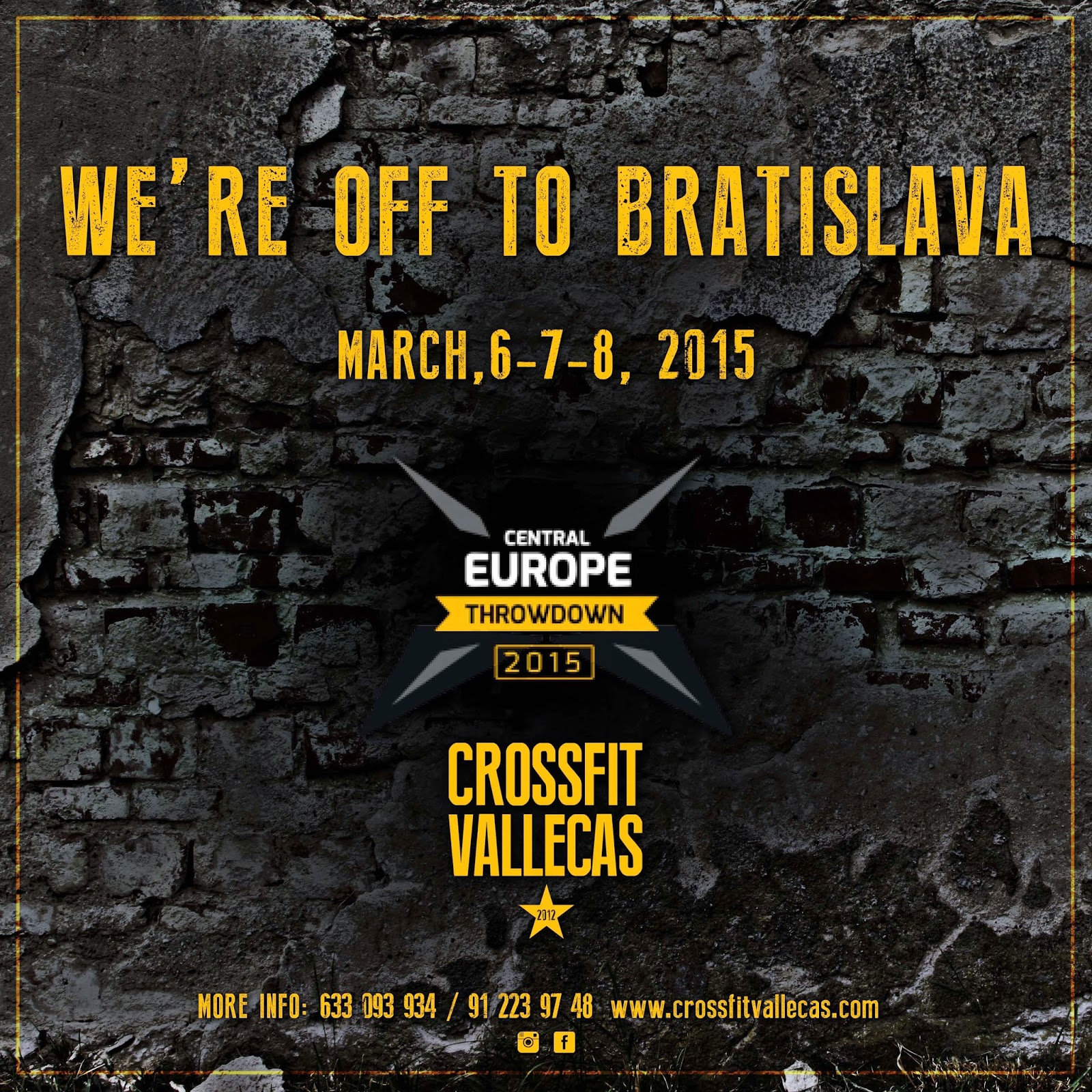 Crossfit vallecas central europe throwdown