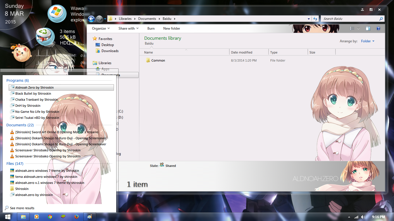 [Theme Win 7 ]Aldnoah.Zero by Shiroskin 3