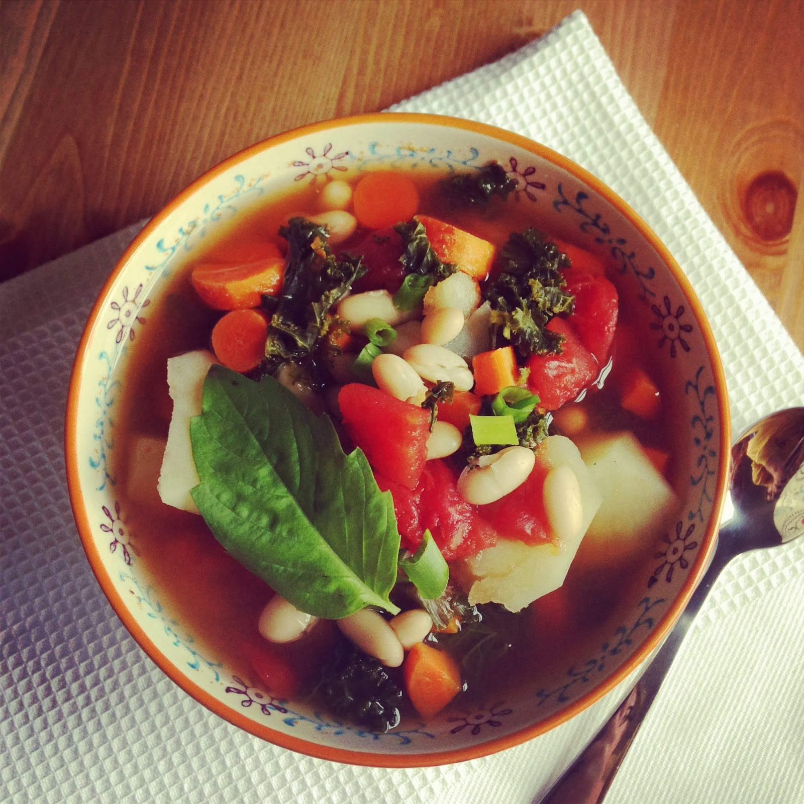 Beyond Borscht: Cannellini Bean and Kale Soup