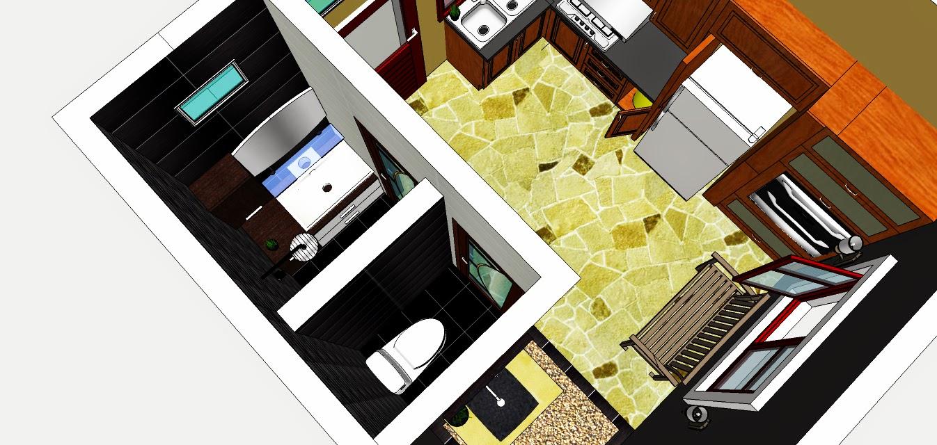 Rekabentuk Ubahsuai Dan Hiasan Dalaman Ruang Dapur Gaya Ala Resort