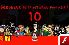 Parodias de Pinturas Famosas 10