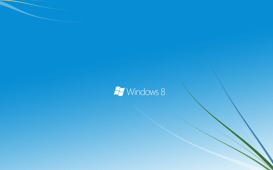 Windows 8 The Default Wallpaper
