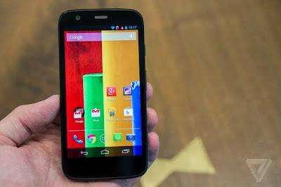 Motorola Moto G Android 5.0 mobile