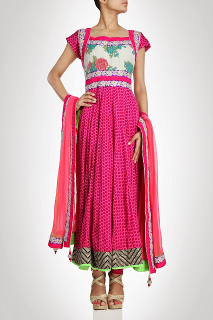 Kiran&ampShruti Akshindianfrockstyledresses 4  - Indian Frock Style Dresses Collection
