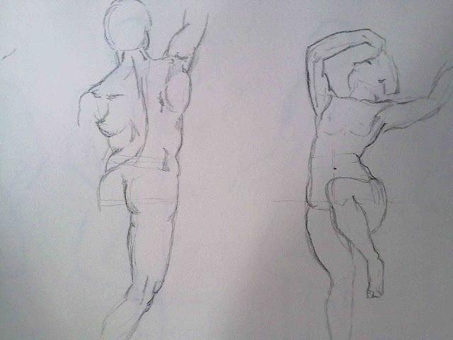 desnudo masculino y femenino sargent