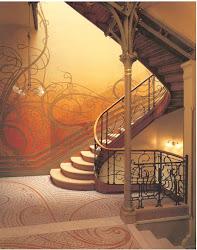Interior del hotel Tassel-Victor Horta