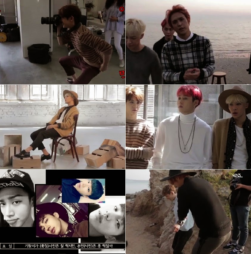 BEAST release the behind-the-scenes of their '12:30′ photoshoot