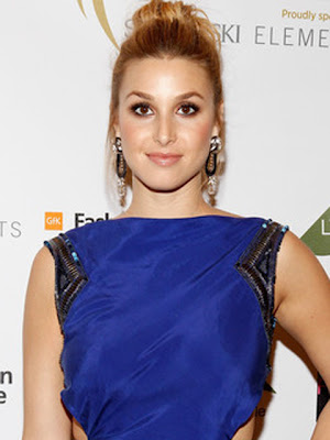 Whitney Port Gold Chandelier Earrings