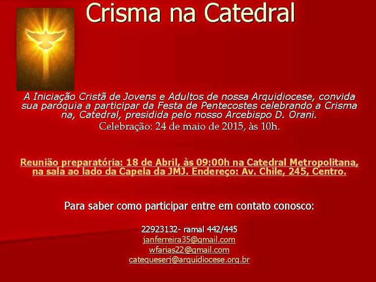 Crisma na Catedral