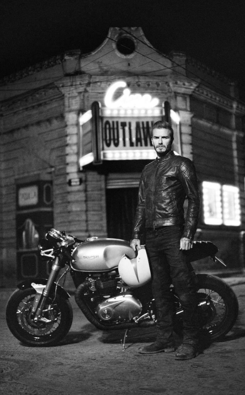 Eniwhere Fashion - News on Fashion - David Beckham and Belstaff