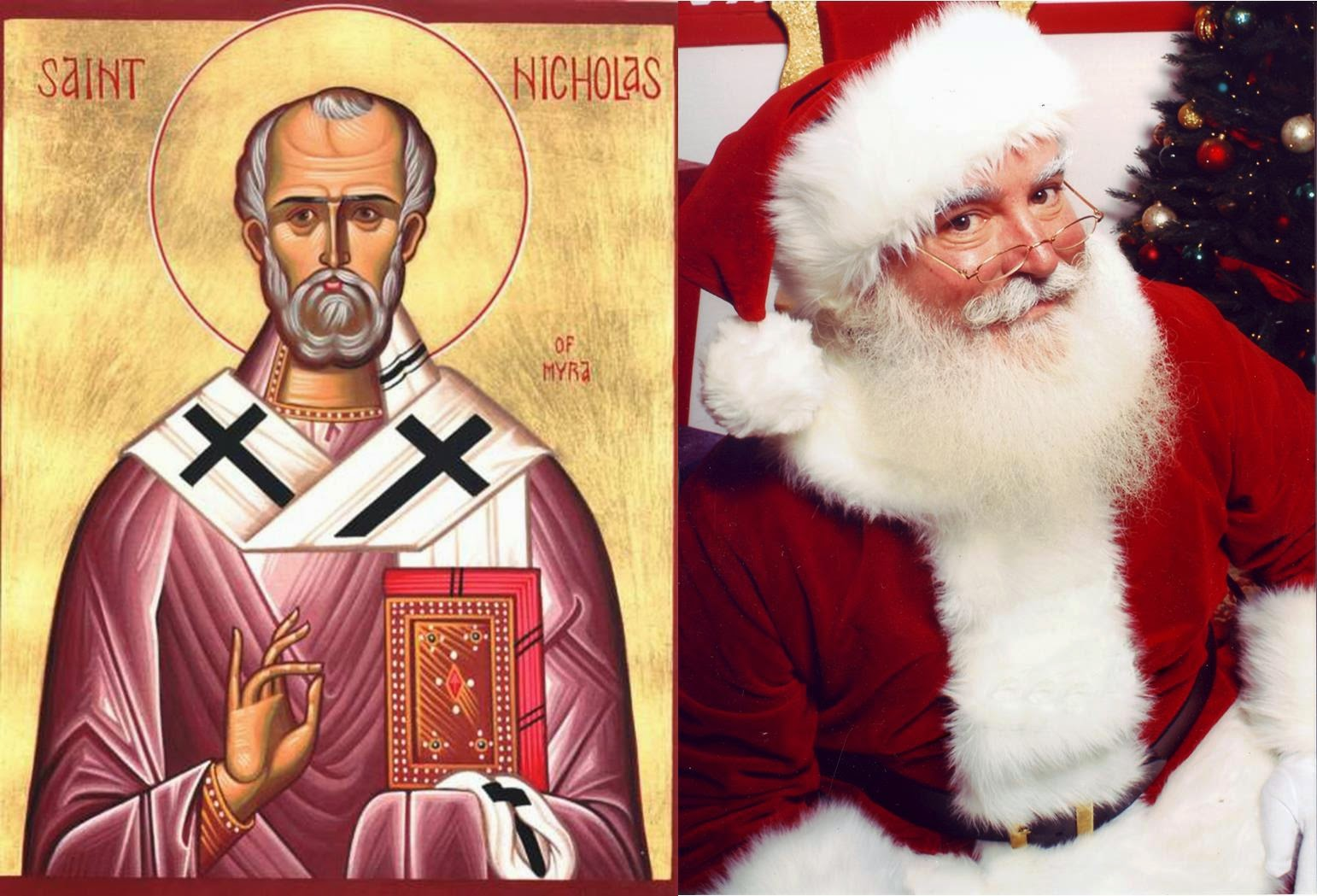 santa claus christian girl personals Let's take a look at the origin of santa claus,  santa, and what does he have to  story behind important christian holidays and dates and encourage you .