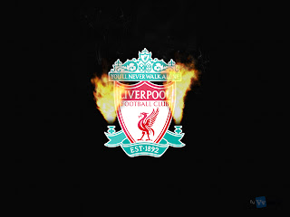 Liverpool FC Logo Real Flames HD Wallpaper