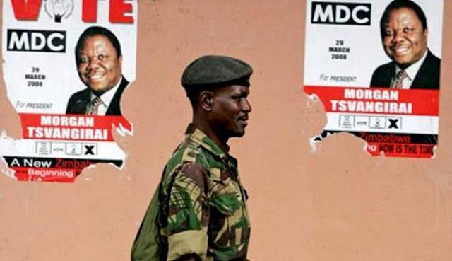 Tentara Zimbabwe Diculik dan Dicabuli Empat Wanita