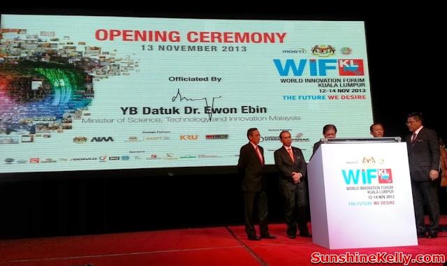 World Innovation Forum Kuala Lumpur 2013, the Future We Desire, world forum, klcc, wifkl 2013