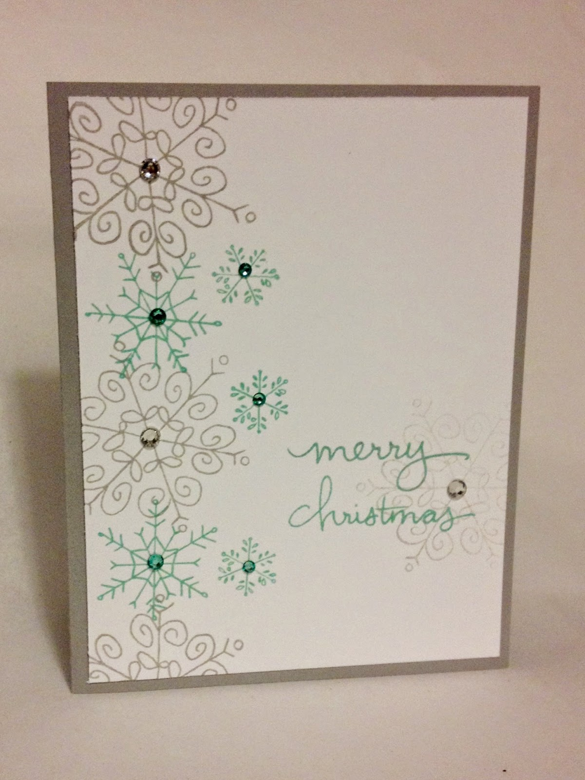 Endless Wishes 2 Midnight Crafter Stampin Up snowflake
