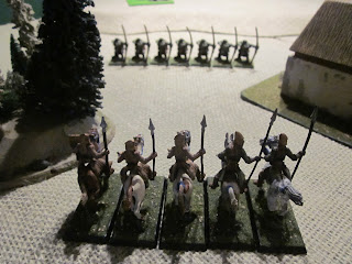 Warhammer Fantasy Battle Report - Tilean Light Cavalry prepare to charge
