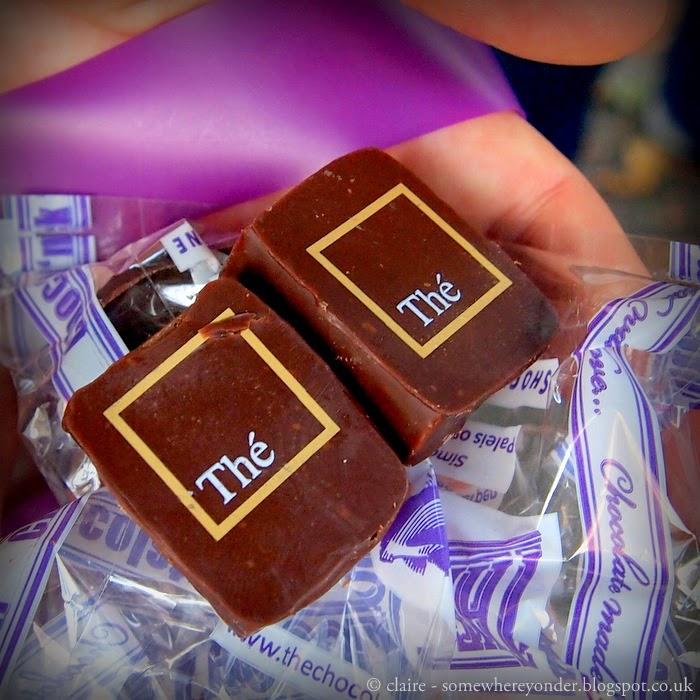 Earl Grey chocolate pralines - Belgium