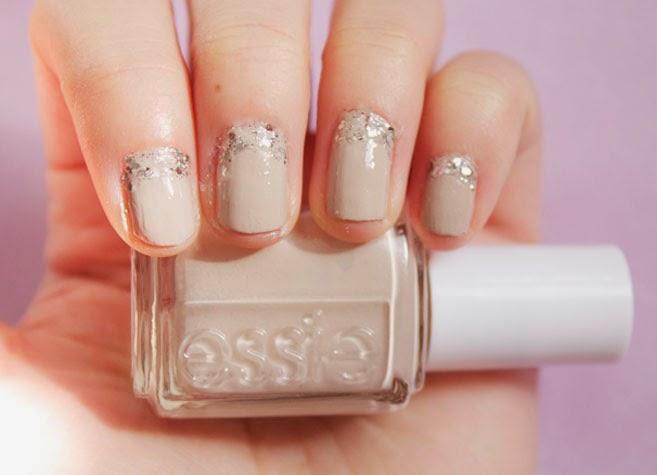 Easy Wedding Nail Art