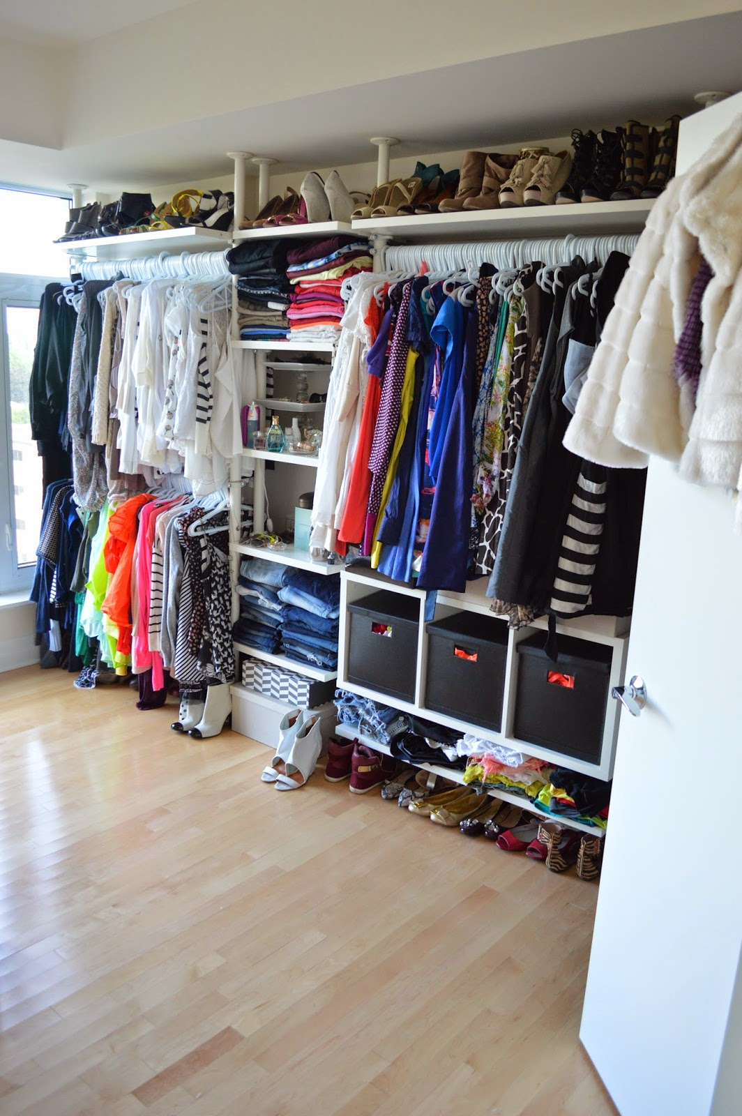 The Whole Closet Is A Customizable Stolmen System From Ikea, Which Can Be  Removed And Will Be Taken With Us When We Move To The Next Place.