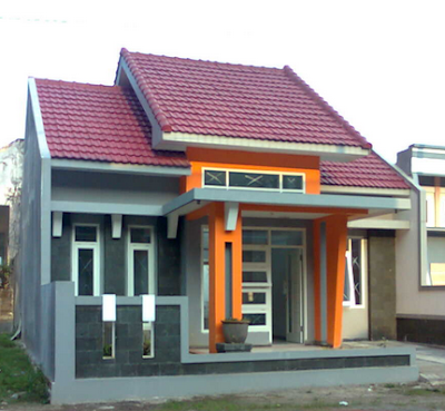 Model teras rumah minimalis type 36