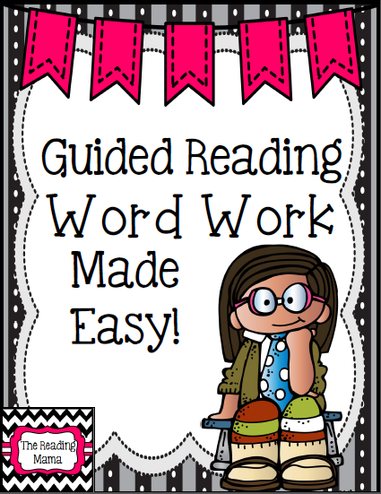 https://www.teacherspayteachers.com/Product/Guided-Reading-Word-Work-Made-Easy-1173271