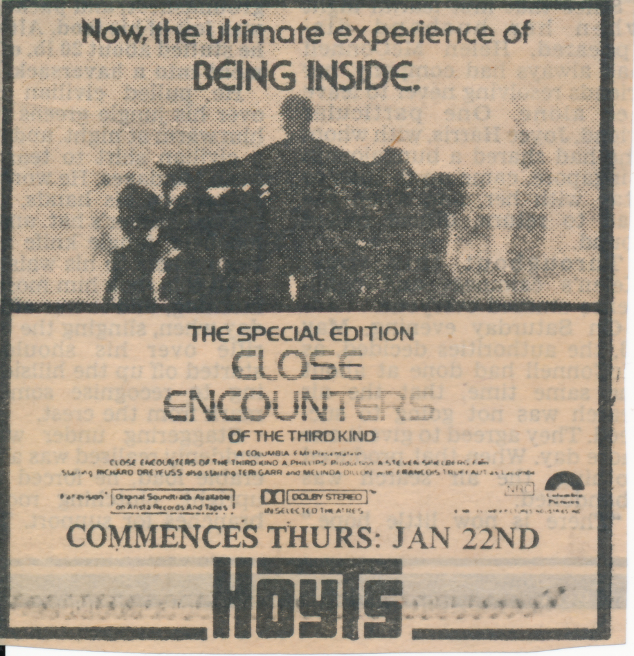 newspaper encounters movie Perth