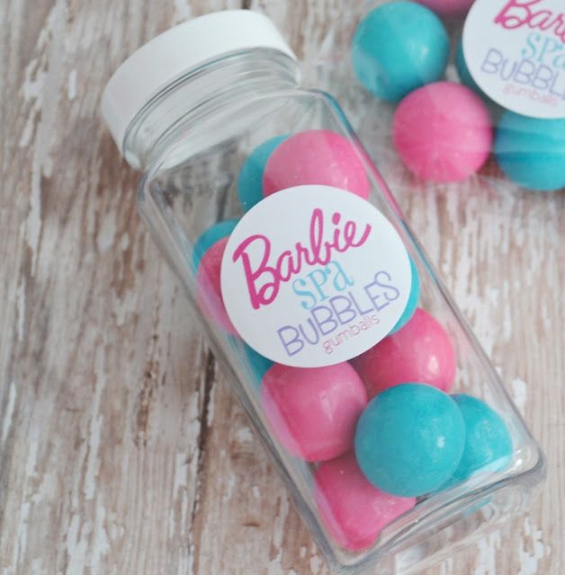 Polka Dot Birthday Supplies, Decor, Clothing: Barbie Spa Party Ideas