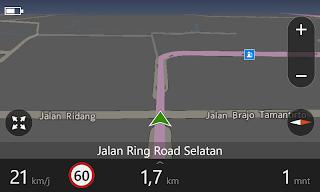 Navigasi Nokia HERE Drive +