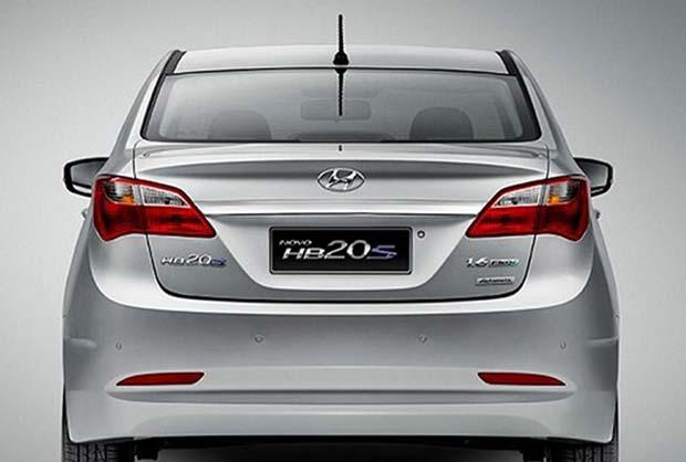novo Hyundai HB20 Sedan 2014 traseira