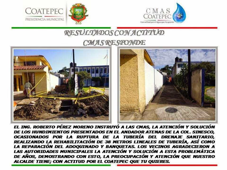 CMAS COATEPEC RESPONDE CON HECHOS