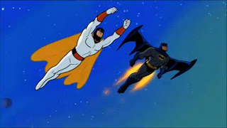 Batman and Space Ghost team up