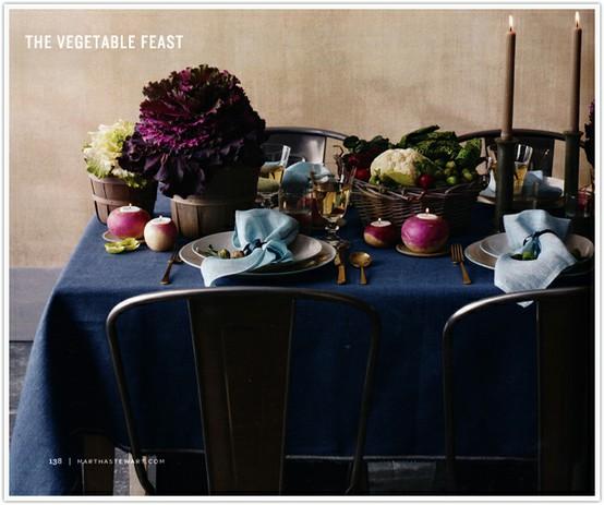 veggie centerpieces Martha Stewart