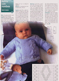 Pulover Sueter para Bebé a dos agujas