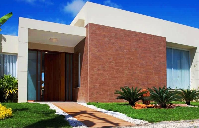 24 fachadas de casas modernas tipos de revestimentos for Casa moderna 9 mirote y blancana