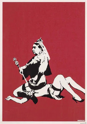 banksy queen victoria bdsm facesitting