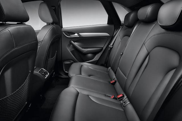 2012 Audi Q3 SUV Back sit Interior