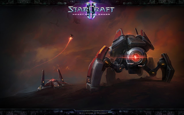 Widow Mine - StarCraft II : Heart of the Swarm