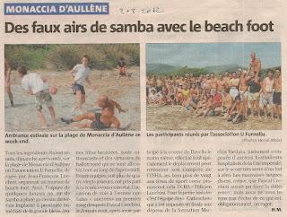 Beach foot 2012