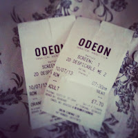 Despicable Me 2 Odeon Tickets