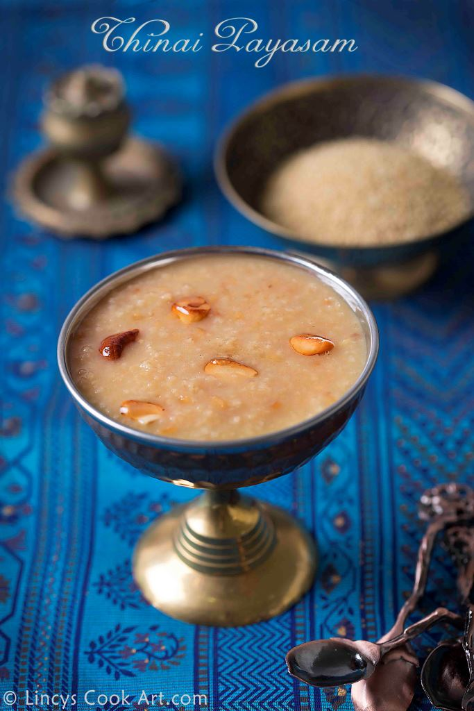 Thinai Pasiparuppu Payasam recipe