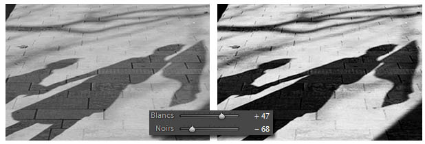 Lightroom - Noirs et Blancs