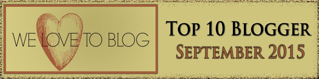 Top Blogger Sept 2015