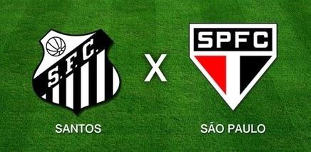 Santos x São Paulo pelo Campeonato Paulista 2014